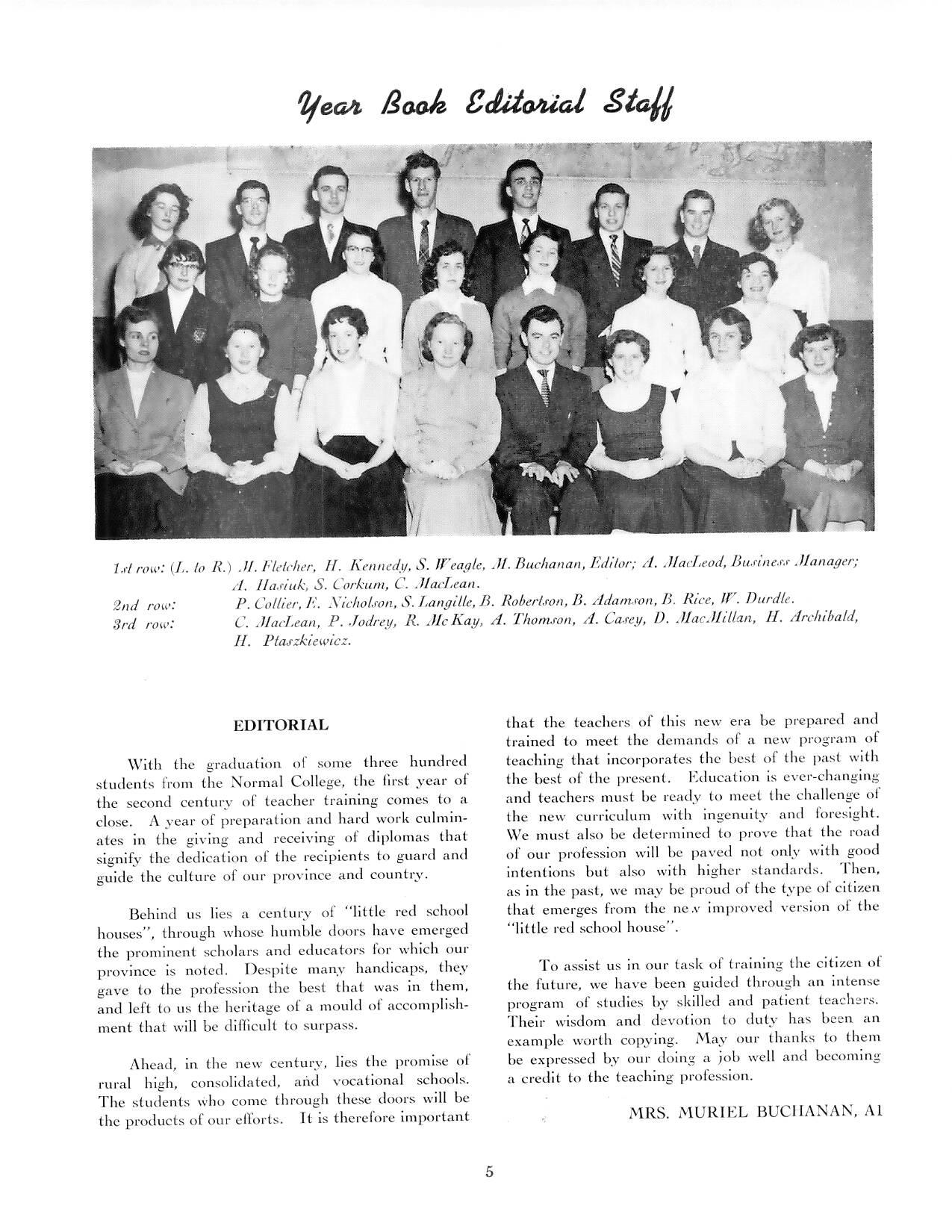 Little White School house Museum » 1956